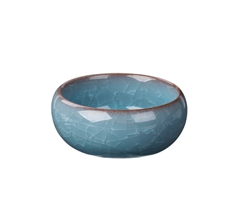 Подсвечник Broste Copenhagen Ebba moonlight blue