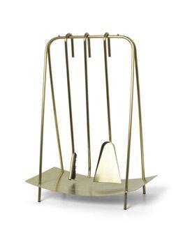 Набор предметов для камина 100568501 ferm LIVING Port Fireplace Tools - Brass