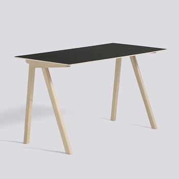 Стіл HAY CPH90 Desk Oak Matt Lacquer black linoleum tabletop