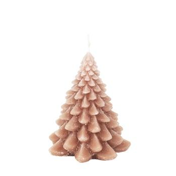 Cвеча Broste Copenhagen  Christmas tree indian tan