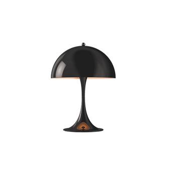 Настольная лампа Panthella table mini led 27k black V2