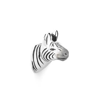 Крючок Ferm Living  Animal Hand-Carved Hook Zebra