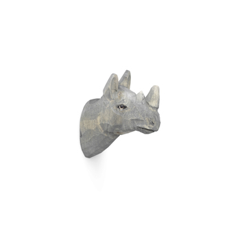 Крючок Ferm Living  Animal Hand-Carved Hook Rhino