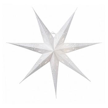 Новогоднее светодиодное украшение в виде звезды Watt & Veke Ebba 80, white