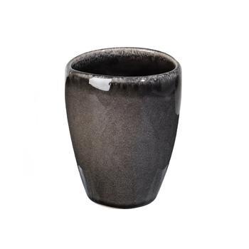Чашка  Broste Copenhagen Nordic coal  charcoal