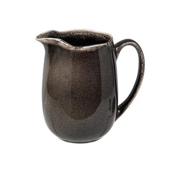 Кувшин для молока Broste Copenhagen Nordic coal charcoal