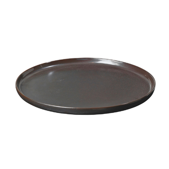 Тарелка Broste Copenhagen Esrum night grey\brown