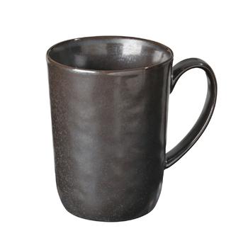 Чашка Broste Copenhagen Esrum night grey\brown