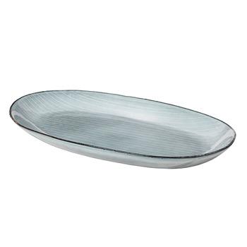 Овальная тарелка Broste Copenhagen  Nordic Sea