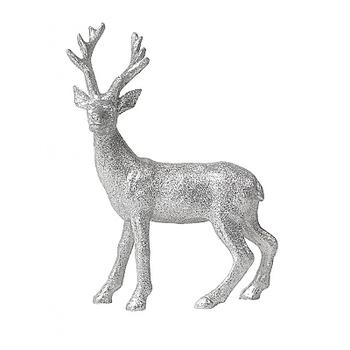 Статуэтка в виде оленя Broste Copenhagen Joras silver