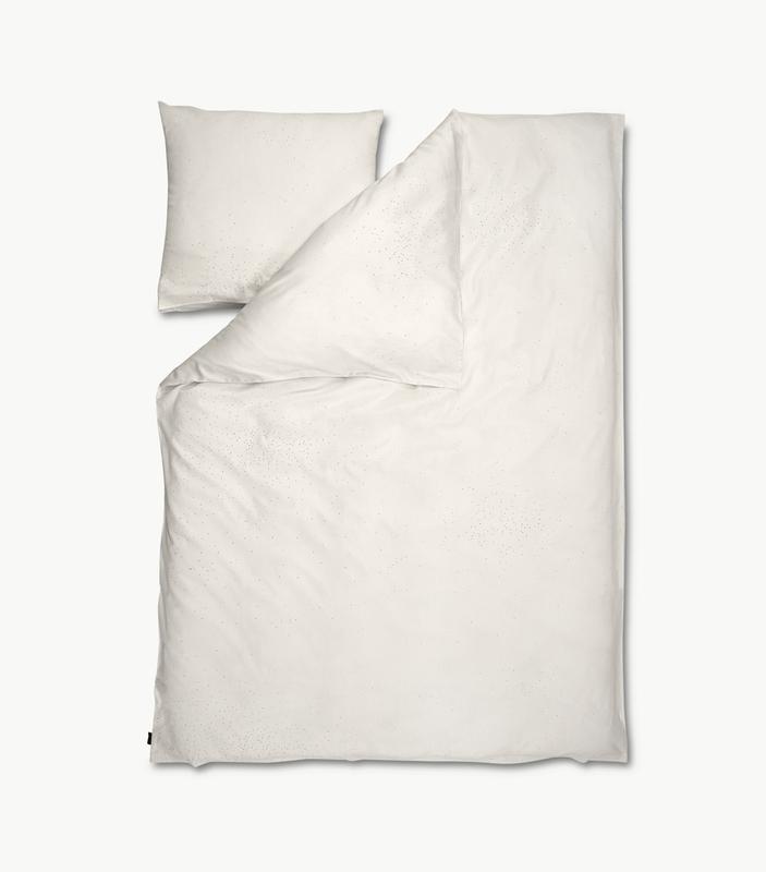 Комплект постельного белья Skagerak Nebulosa Bone White. Изображение 1