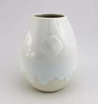Ваза настольная Wauw design Cristal snow white Large