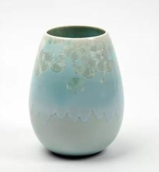 Ваза настольная Wauw design Cristal Ice blue small