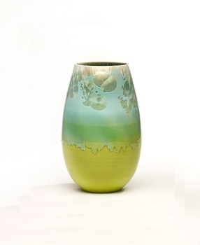 Ваза настольная Wauw design Cristal Green aqua  small