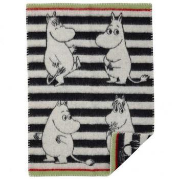 Плед Klippan Moomin black