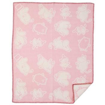 Плед Klippan Moomin pink