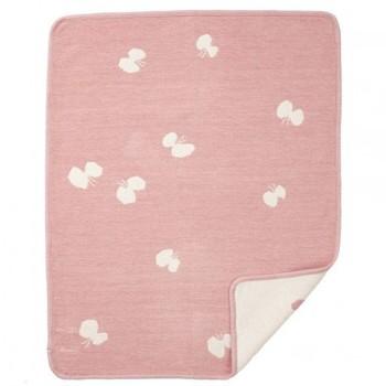 Плед Klippan Choucho pink