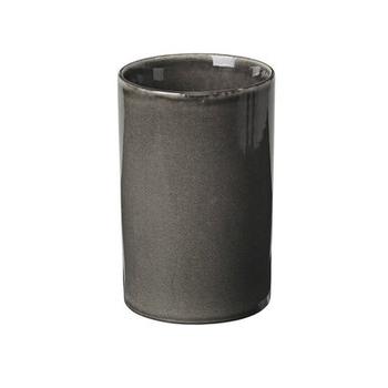 Стакан для приборов Broste Copenhagen  Nordic Coal Charcoal