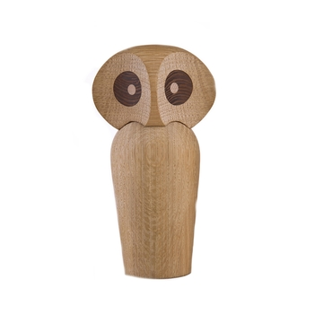 Cтатуэтка в виде совы  Architectmade  Owl large natural