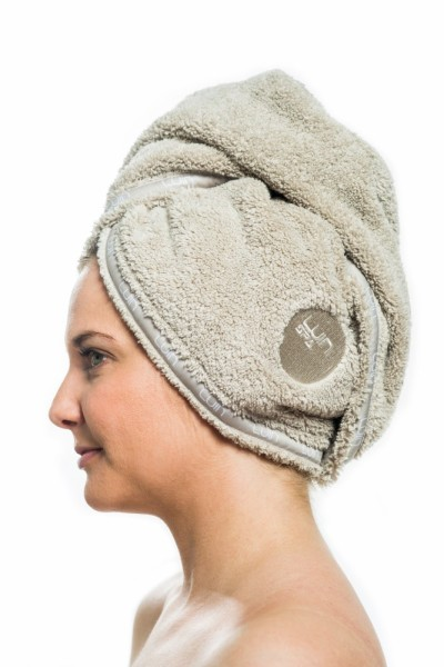 Полотенце для головы Luin spa Hair towel Sand. Изображение 1