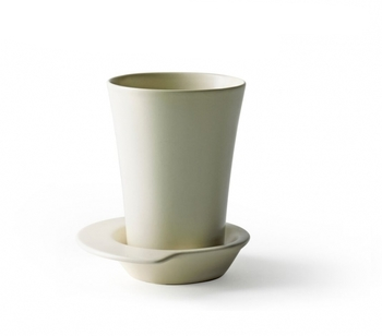 Чашка Design House Stockholm  Spin black white