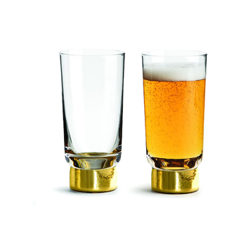 Набор стаканов из 2 шт Sagaform Club, gold