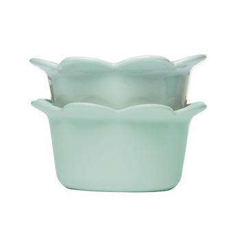 Набор тарелок 2 шт.  Sagaform Picadilly  turquoise