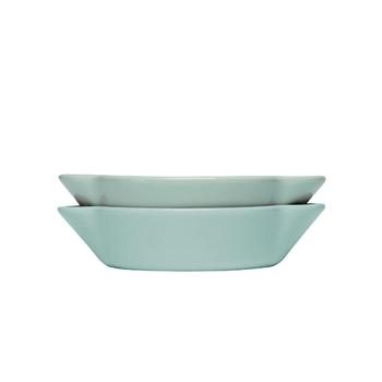 Набор тарелок 2 шт. тарелка Sagaform Picadilly turquoise