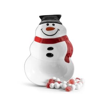 Тарелка в виде снеговика  Sagaform Snowman