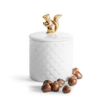 Чаша  для орехов  Sagaform Squirrel gold