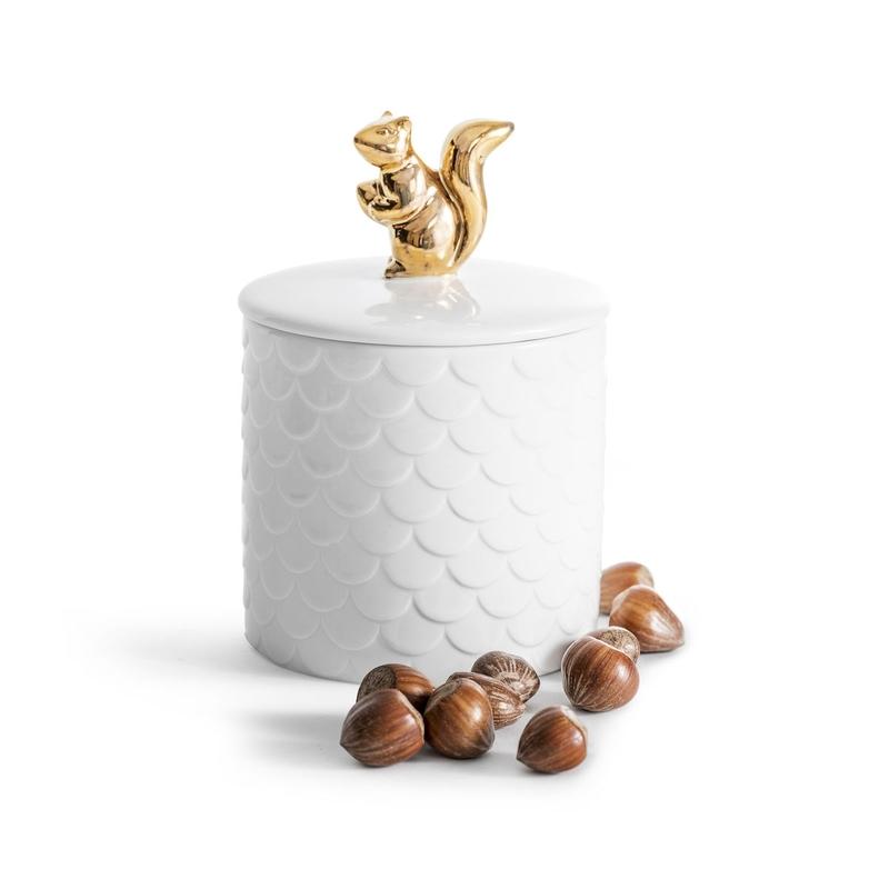 Чаша  для орехов  Sagaform Squirrel gold . Изображение 1