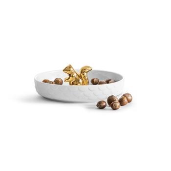 Миска для орехов  Sagaform Squirrel gold