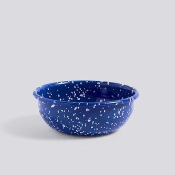 Чаша Enamel Bowl M, speckle, blue