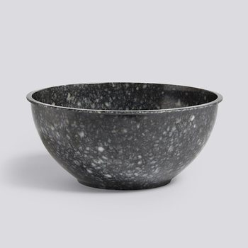 Блюдо Fleck Bowl marbled grey