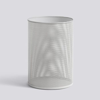 Корзина Perforated Bin L light grey