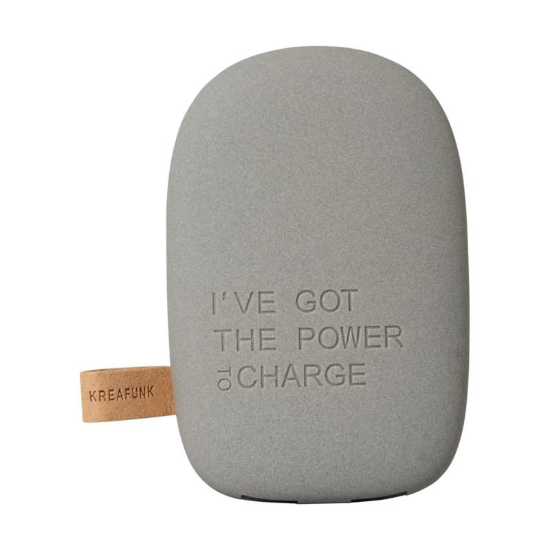 Зарядное устройство Kreafunk dark grey . Изображение 1