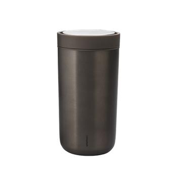Термокружка Stelton To go Click brun  metalic