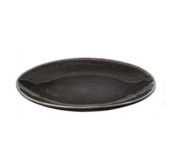 Тарелка Broste Copenhagen Nordic coal charcoal