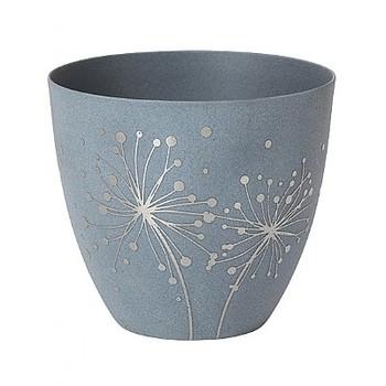 Подсвечник Broste Copenhagen Dandelion silver