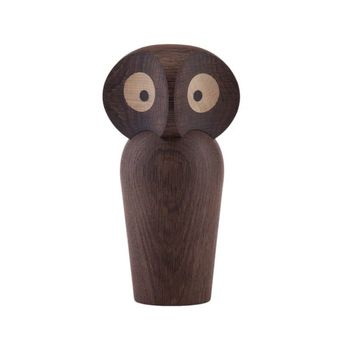 Статуэтка в виде совы  Architectmade  Owl large smoked