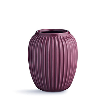 Ваза Kähler HAMMERSHØI medium plum