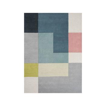 Напольный ковер Linie Design Tetris, lime