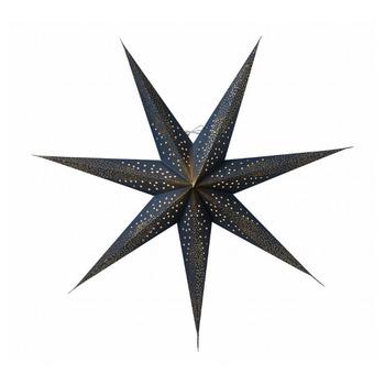 Новогоднее светодиодное украшение в виде звезды Watt & Veke Skina 80, blue/gold
