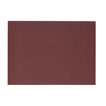 Подставка под тарелку Zone Lino, burgundy