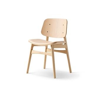 Стул Fredericia Søborg Chair - Wood frame