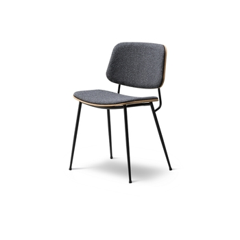 Стул Fredericia Søborg Chair - Steel frame