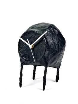 Часы декоративные Serax CLOCK PAPER MACHE BLACK