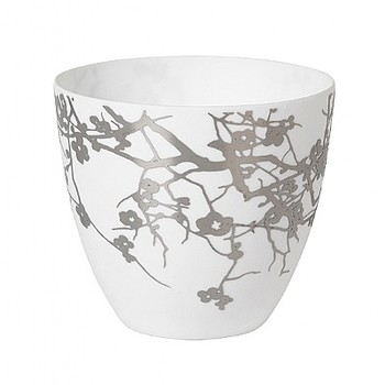 Подсвечник Broste Copenhagen  winter tree white\silver