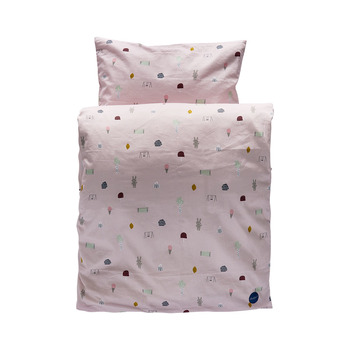 Набор постельного белья (пододеяльник+наволочка) Oyoy HAPPY SUMMER