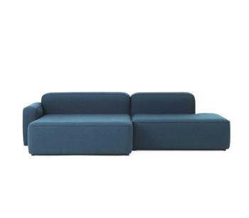Диван Normann Copenhagen Rope Sofa Chaise Lounge left Fame Hybrid